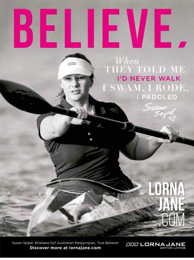 Lorna Jane Advertisement features Susan