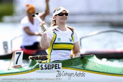 Susan Seipel Vaa winning